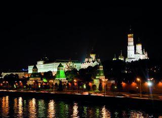 Почтовая открытка Кремлевская набережная
