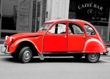 Почтовая открытка Citroën 2CV