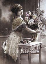Почтовая открытка Аромат цветов
