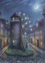 Почтовая открытка Башня историй