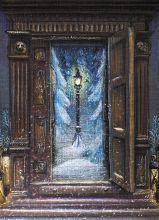 Почтовая открытка Новогодняя Нарния